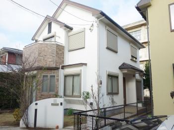 水まわりで有名なTOTOさんの外壁塗料、フッ素に近い屋根塗料でお家の塗装完了です。