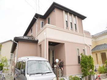 付帯に使った塗料は、ハイブリッド技術による優れた性能を発揮します。住まいを守る塗替え塗料。